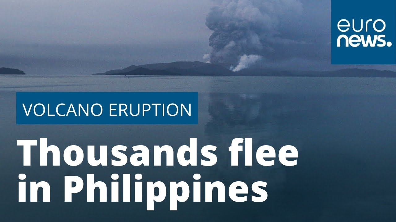 Volcanic Eruption In Philippines Causes Thousands To Flee
