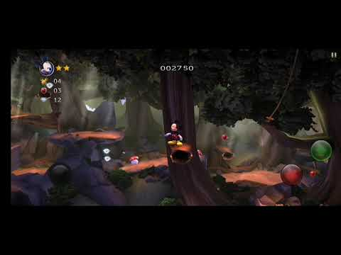 Castle of Illusion - android gameplay act 1 |