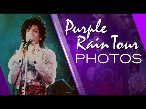 My Photos From Purple Rain Tour - Prince 1984 - Greensboro Coliseum