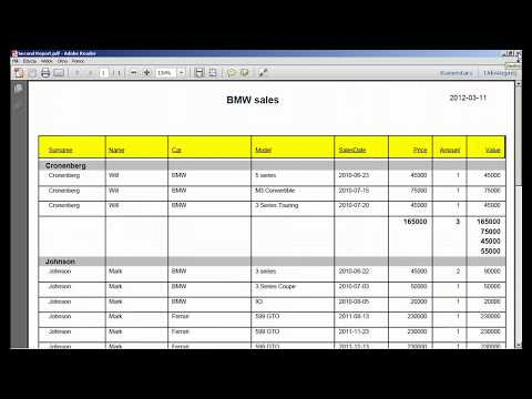 Crystal Reports Tutorial - Crystal Viewer And Changing Source (Lesson 9)
