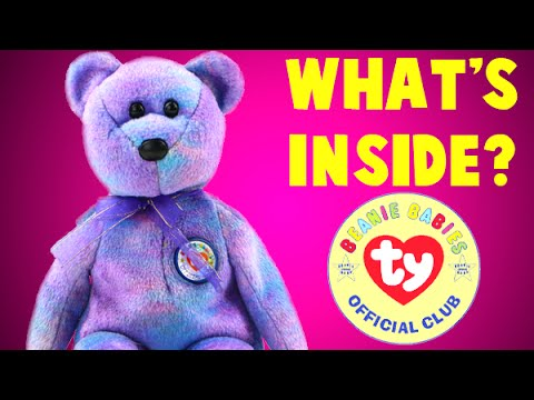 1b4f7815b00 What s INSIDE A Beanie Baby  I Cut Open This Stuffed Bear to Find Out! -  YouTube