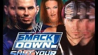 wwe Smackdown shut your mouth Jushin Liger vs Jeff Hardy
