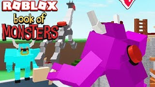 FIGHT THE BOOK OF MONSTERS IN ROBLOX