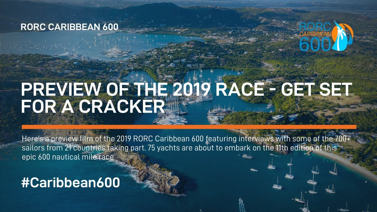 2019 RORC Caribbean 600 – Race Preview Film
