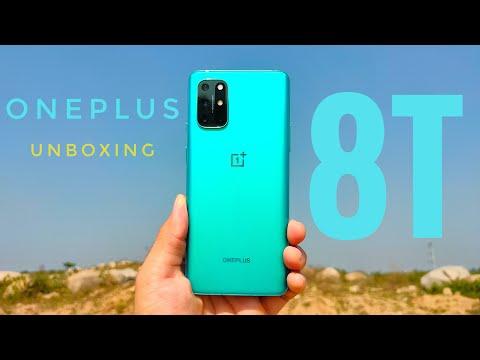 OnePlus 8T 5G Aquamarine Green 12GB/256GB Amazon Unboxing & First Impression