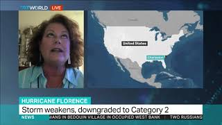 Hurricane Florence: Charleston resident explains why she is staying behind as others evacuate