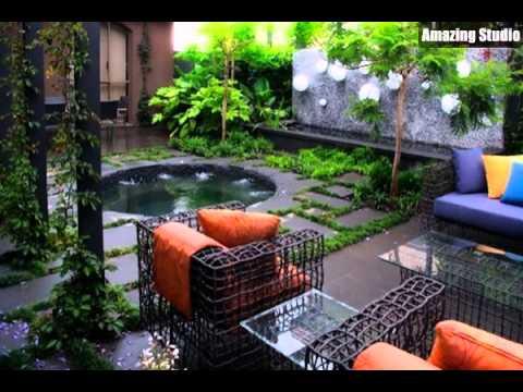 Hochwertig Minimalist Gartenmöbel Garten Design Ideen