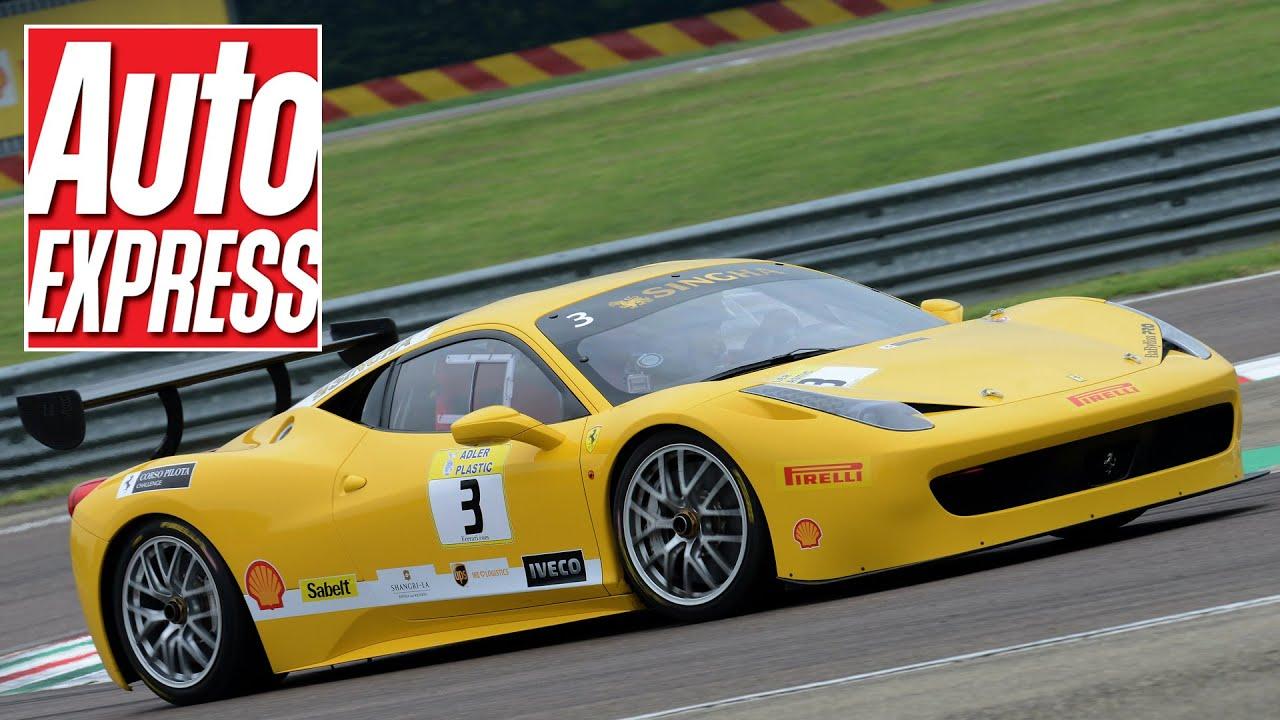 Ferrari 458 Challenge Evoluzione Vs 458 Speciale On Track Youtube