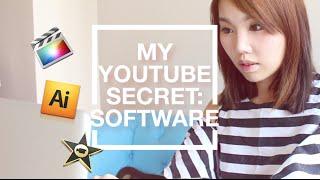 【BrenLui大佬B】What Editing Software I Use 我常用的剪片軟件 / 美心西餅廣告片段 Thumbnail