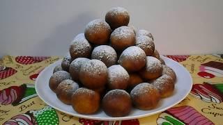 Пышные вкусные пончики из творожного теста Домашние сладости к чаю