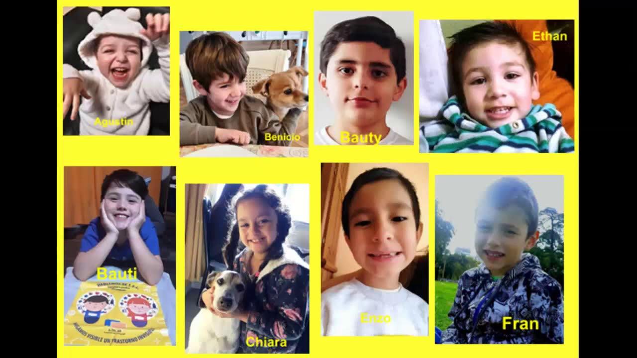 Campaña 2020 hecha por niños sobre el Trastorno Especifico del Lenguaje TEL Atelar Argentina