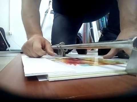 Биговщик своими руками для бумаги