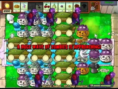 Digger zombies kill giga gargs! Plants vs Zombies