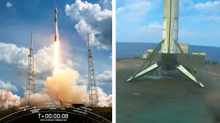 GPS 3 (2020) explained and SpaceX Falcon 9 launch/landing of GPS III satellite