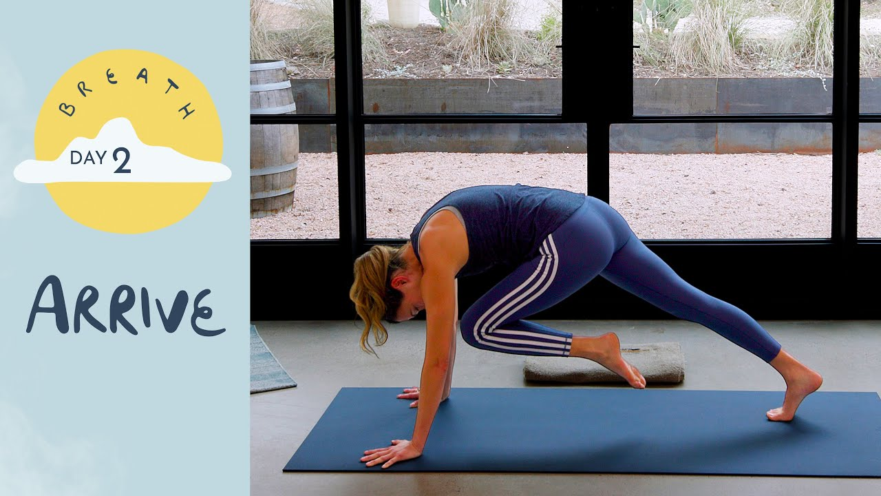 Download Day 2 - Arrive | BREATH - A 30 Day Yoga Journey
