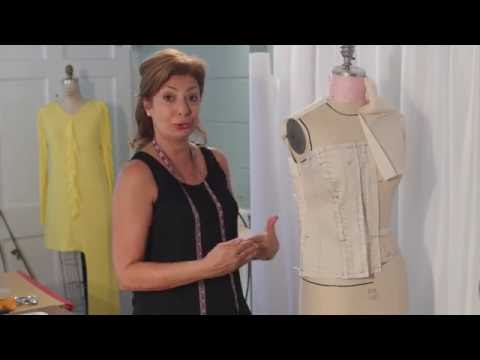 How To Make a Jean Vest: Part 2 Draping Method