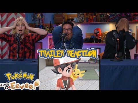 Pokémon: Let's Go, Pikachu & Eevee! | Trailer Reaction
