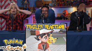 Pokémon: Let's Go, Pikachu & Eevee! | Trailer Reaction
