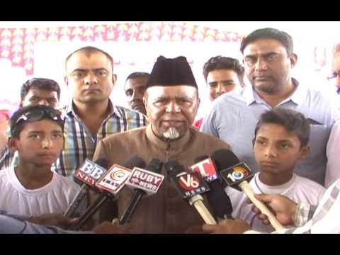 TMRES Telangana  minority residential school regisation camp at mecca masid