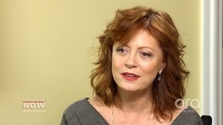 Susan Sarandon got to say goodbye to former lover David Bowie   Larry King Now   Ora.TV