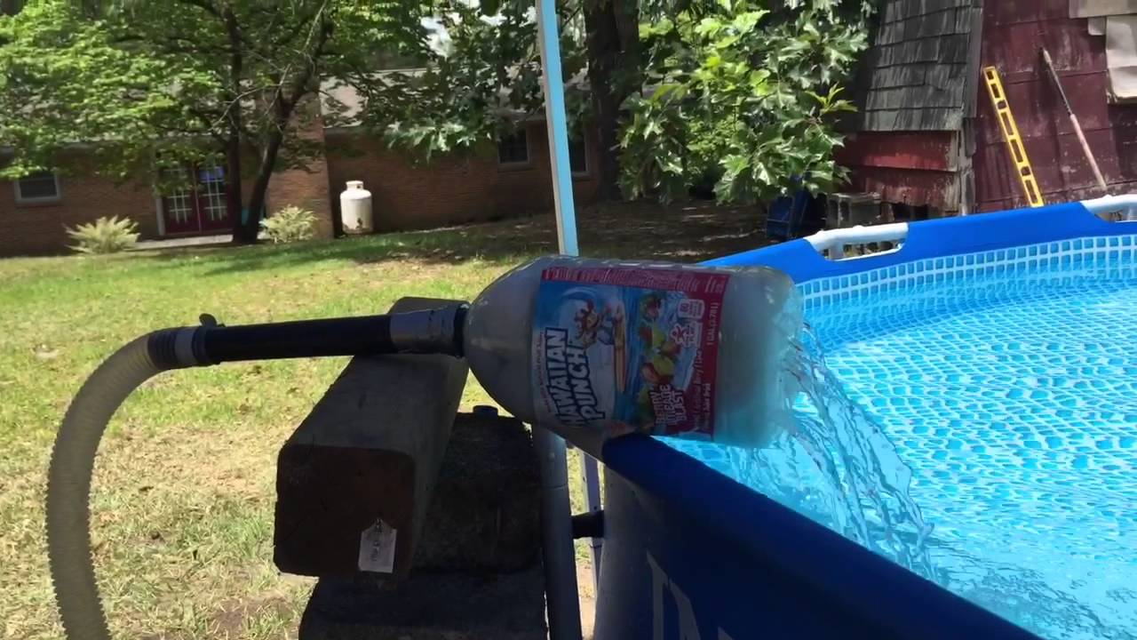 How to remove iron from your swimming pool youtube - How much water in a swimming pool ...