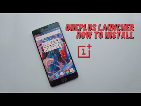 OnePlus Launcher 2 3 0 | How to install !! - YouTube
