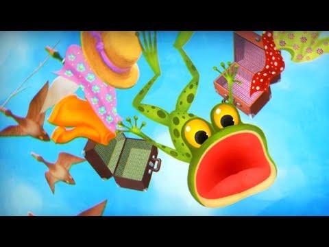 Волшебный Фонарь - Лягушка путешественница - обучающий мультфильм - В. Гаршин
