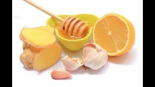 Лимон имбирь чеснок