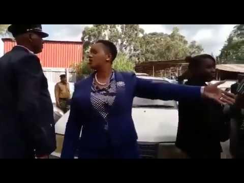 RUDE Laikipia Woman Rep Catherine Waruguru FACES ARREST!