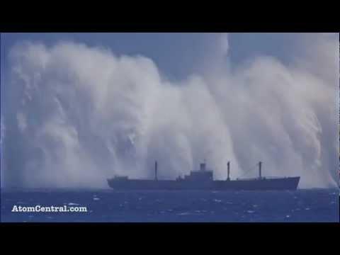 North Korea Atomic Bomb Test Under Water HD