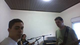 CCR Cover - Who'll stop the rain (First rehearsal with bass guitar - Primeiro ensaio com baixo)