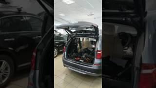 электропривод багажника BMW X3