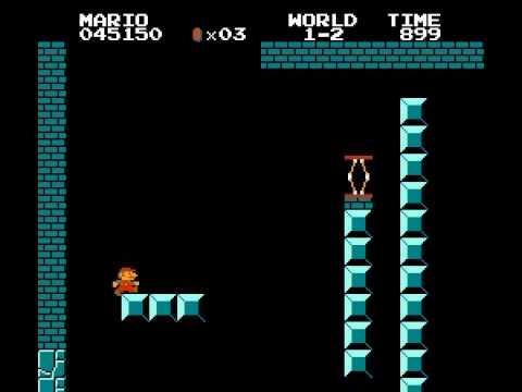 Super Mario Bros. Frustration Speed Run In 3:07 (100% Complete)