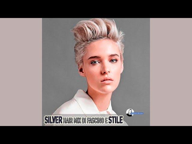 I capelli Silver di tendenza