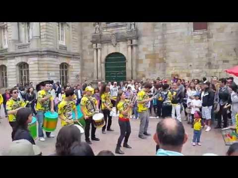 Drummers Street Show Bogota Columbia