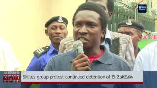 Shiite group protest continued detention of El-Zakzaky (Nigerian News)