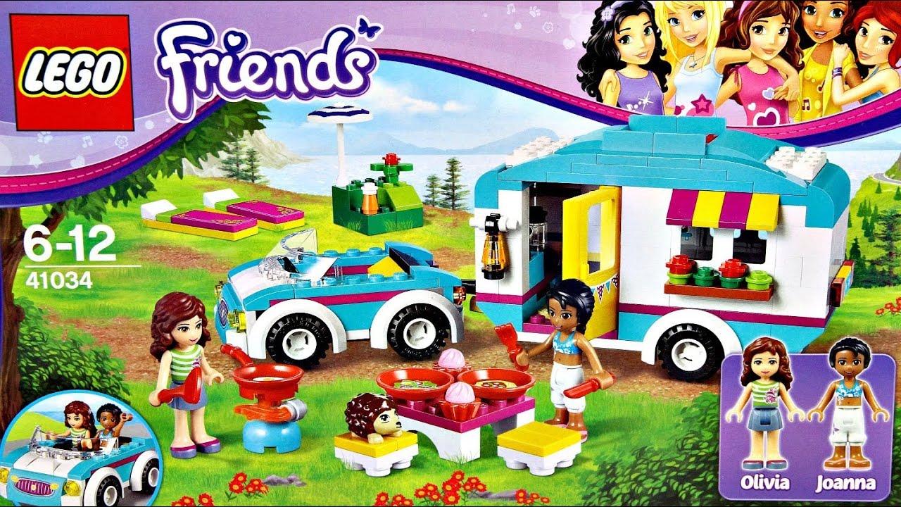 Summer Caravan Wóz Kempingowy 41034 Lego Friends Recenzja
