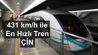 The fastest train in the world; The Shanghai Maglev
