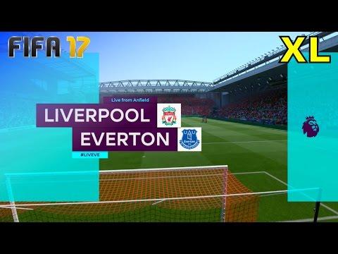 FIFA 17 - Liverpool vs. Everton @ Anfield (XL Match)