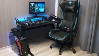 Обзор ThunderX3 AD3 и ThunderX3 AS5. Компьютерный стол и подставка под монитор