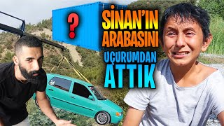 We Threw Sinan's Car From the Cliff | Giant Ambush! | The Vehicle Was Pert
