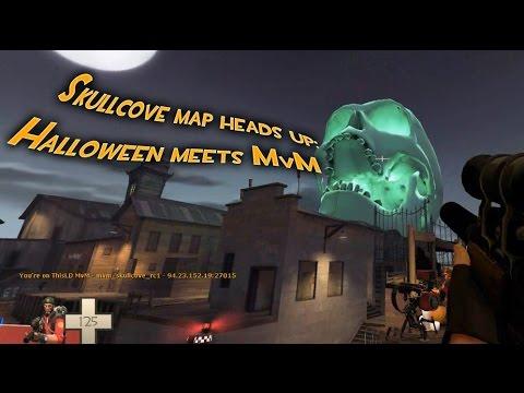 TF2 - MvM meets Halloween: Skullcove Heads-up!