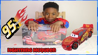 Lightning McQueen car toys unboxing | kids pretend play