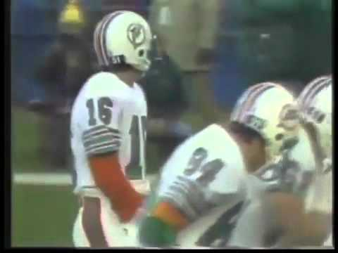 Miami Dolphins vs New York Jets 1981