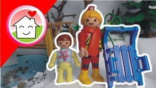 Playmobil Film Deutsch Schlitten Fahren Von Family Stories