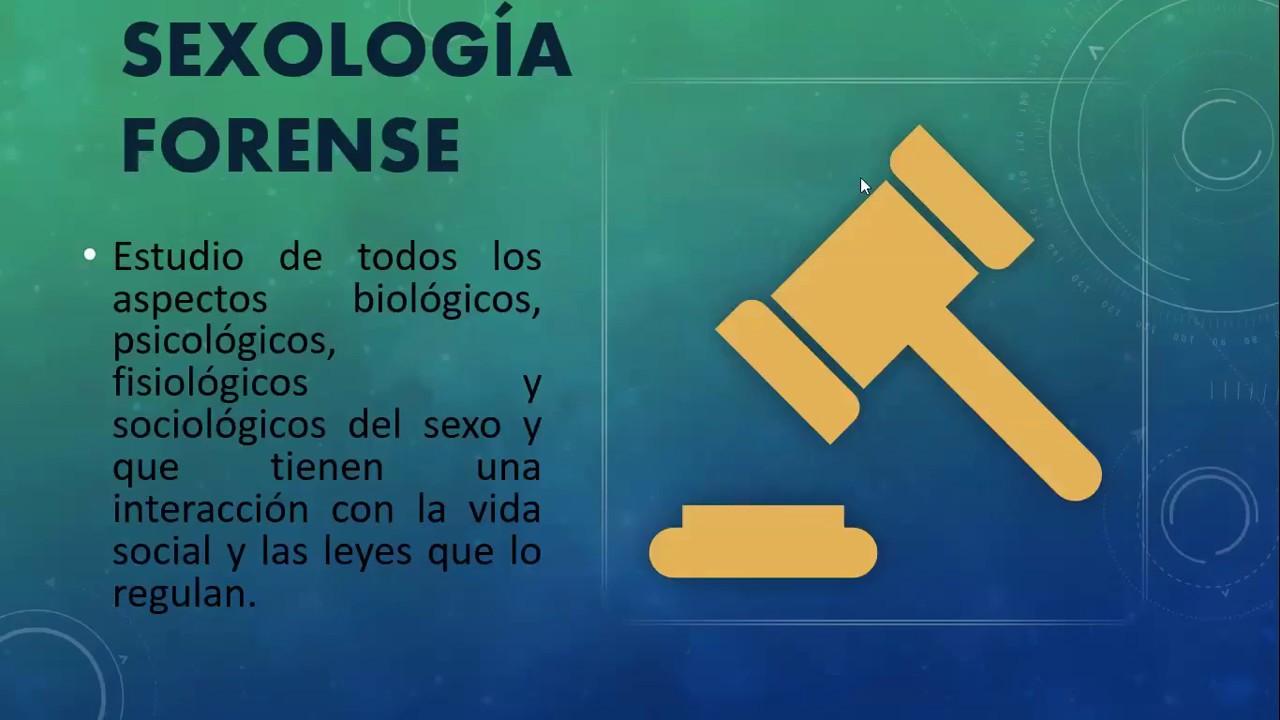 Sexología forense