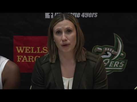 Charlotte Women's Basketball vs. ECU Postgame