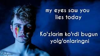 Hiyonat - Ummon   Uzbek & English lyrics   Belyrics
