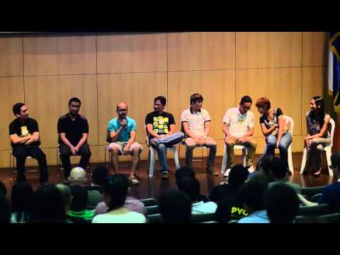 Image from PyCon PH 2015 - Community Panel