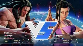 Street Fighter V   Nicole24 (Necalli) v taozenforce (Ibuki) SFD   NA Season Weekly W2 Losers R2